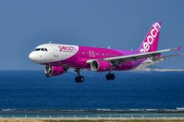 sshzeさんが、那覇空港で撮影したピーチ A320-214の航空フォト(飛行機 写真・画像)
