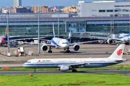 Hiro Satoさんが、羽田空港で撮影した中国国際航空 A321-213の航空フォト(飛行機 写真・画像)