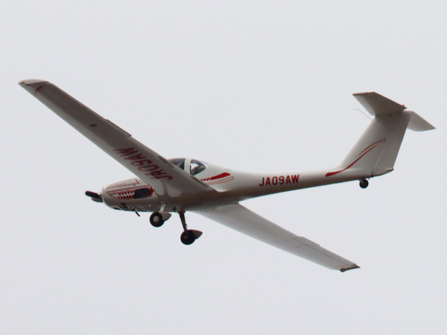 丸めがねさんが、大利根飛行場で撮影した日本モーターグライダークラブ G109Bの航空フォト(飛行機 写真・画像)