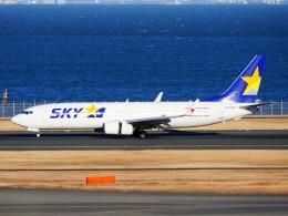 mich_stoneさんが、羽田空港で撮影したスカイマーク 737-86Nの航空フォト(飛行機 写真・画像)