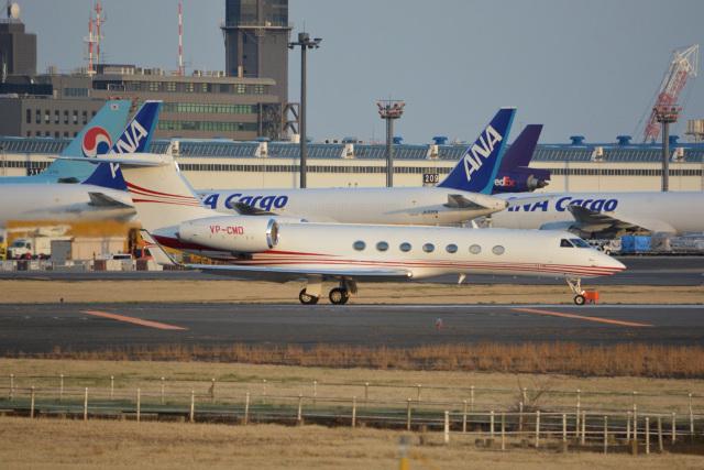 SKY☆101さんが、成田国際空港で撮影したケイマン諸島企業所有 G-V-SP Gulfstream G550の航空フォト(飛行機 写真・画像)