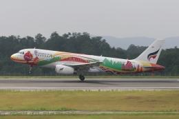 ☆H・I・J☆さんが、広島空港で撮影したバンコクエアウェイズ A320-232の航空フォト(飛行機 写真・画像)