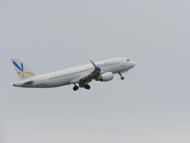 しまb747さんが、成田国際空港で撮影したバニラエア A320-216の航空フォト(飛行機 写真・画像)