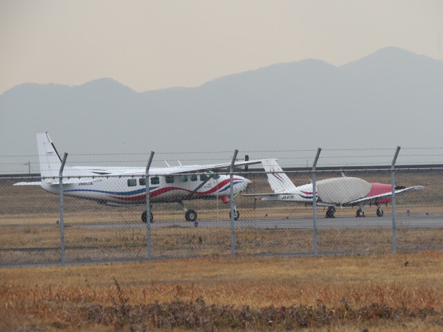 F.YUKIHIDEさんが、岡南飛行場で撮影した朝日航空 208B Grand Caravanの航空フォト(飛行機 写真・画像)