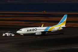 M.airphotoさんが、羽田空港で撮影したAIR DO 737-781の航空フォト(飛行機 写真・画像)