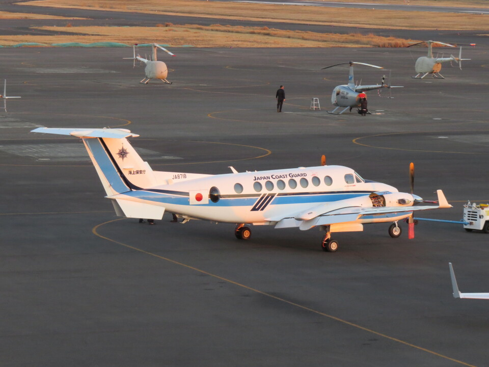 F.YUKIHIDEさんのジャプコン Beechcraft King Air 350 (JA871B) 航空フォト