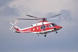 kumagorouさんが、仙台空港で撮影した山形県消防防災航空隊 AW139の航空フォト(飛行機 写真・画像)