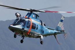 meskinさんが、山形空港で撮影した山形県警察 A109E Powerの航空フォト(飛行機 写真・画像)