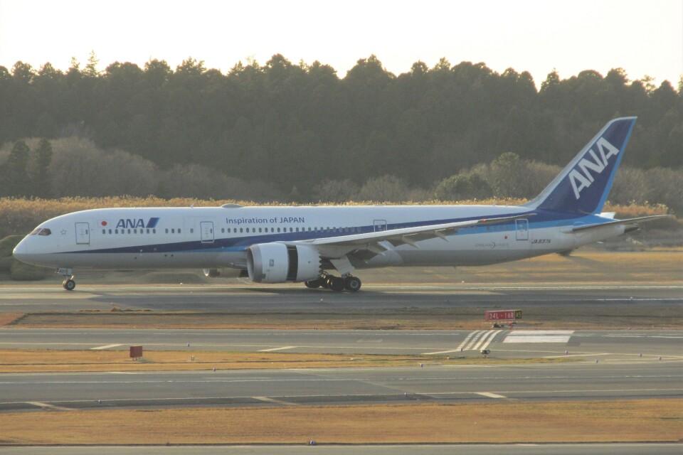 BOEING737MAX-8さんの全日空 Boeing 787-9 (JA837A) 航空フォト
