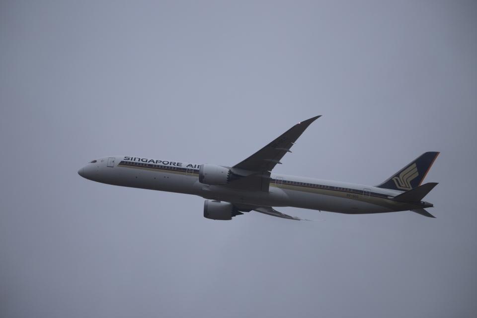 m_aereo_iさんのシンガポール航空 Boeing 787-10 (9V-SCC) 航空フォト