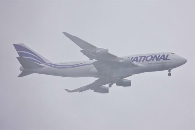 jutenLCFさんが、中部国際空港で撮影したナショナル・エア・カーゴ 747-412(BCF)の航空フォト(飛行機 写真・画像)