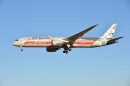 柏の子?さんが、成田国際空港で撮影したエティハド航空 787-9の航空フォト(飛行機 写真・画像)