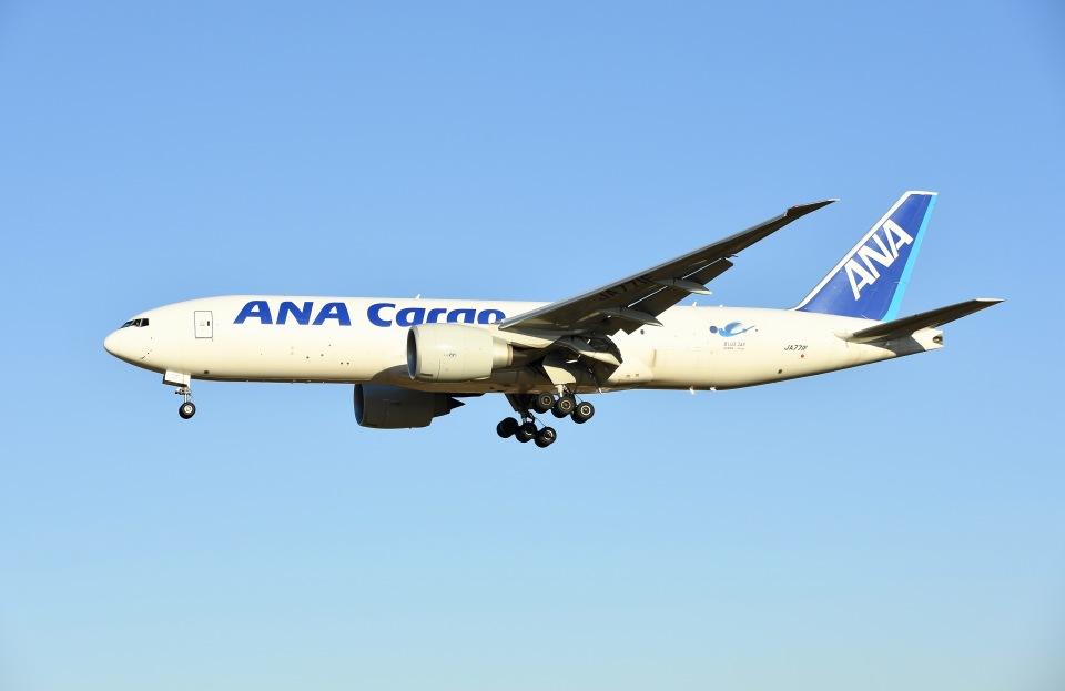 柏の子?さんの全日空 Boeing 777-200 (JA771F) 航空フォト