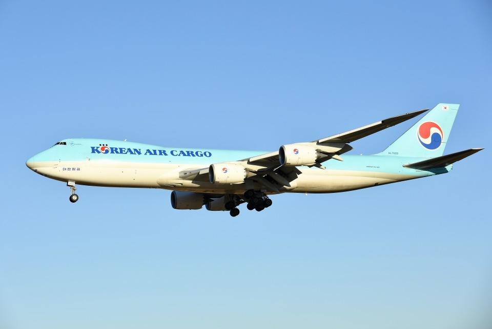 柏の子?さんの大韓航空 Boeing 747-8 (HL7609) 航空フォト