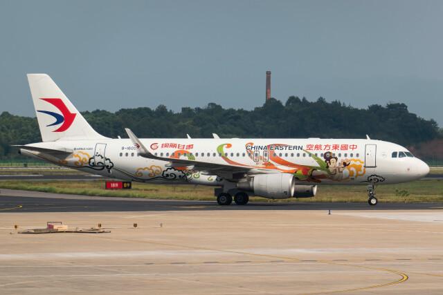让开我先飞さんが、長沙黄花国際空港で撮影した中国東方航空 A320-214の航空フォト(飛行機 写真・画像)