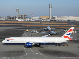 チャレンジャーさんが、羽田空港で撮影したブリティッシュ・エアウェイズ 787-9の航空フォト(飛行機 写真・画像)