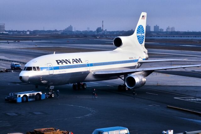 パール大山さんが、ジョン・F・ケネディ国際空港で撮影したパンアメリカン航空 L-1011-385-3 TriStar 500の航空フォト(飛行機 写真・画像)