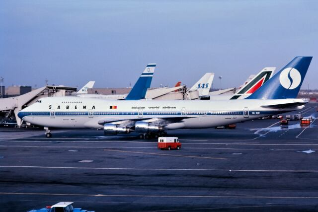 パール大山さんが、ジョン・F・ケネディ国際空港で撮影したサベナ・ベルギー航空 747-129(M)の航空フォト(飛行機 写真・画像)