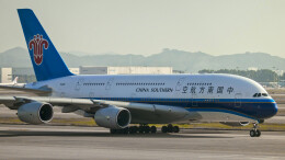 让开我先飞さんが、広州白雲国際空港で撮影した中国南方航空 A380-841の航空フォト(飛行機 写真・画像)