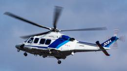 Kenny600mmさんが、伊丹空港で撮影したオールニッポンヘリコプター AW139の航空フォト(飛行機 写真・画像)