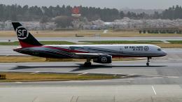FlyingMonkeyさんが、成田国際空港で撮影したSF エアラインズ 757-21B(PCF)の航空フォト(飛行機 写真・画像)