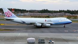FlyingMonkeyさんが、成田国際空港で撮影したチャイナエアライン 747-409F/SCDの航空フォト(飛行機 写真・画像)