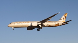 raichanさんが、成田国際空港で撮影したエティハド航空 787-9の航空フォト(飛行機 写真・画像)