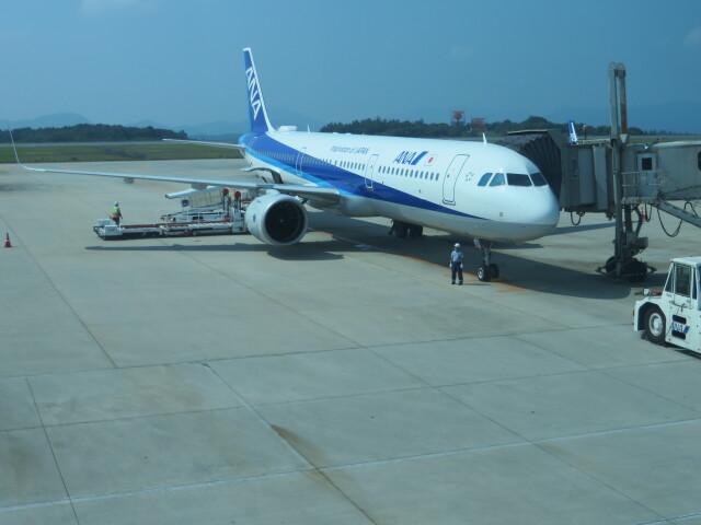 大島商船さんが、広島空港で撮影した全日空 A321-272Nの航空フォト(飛行機 写真・画像)