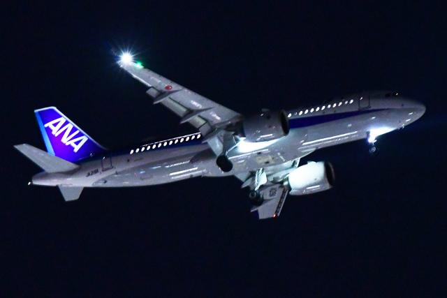 TOPAZ102さんが、伊丹空港で撮影した全日空 A320-271Nの航空フォト(飛行機 写真・画像)