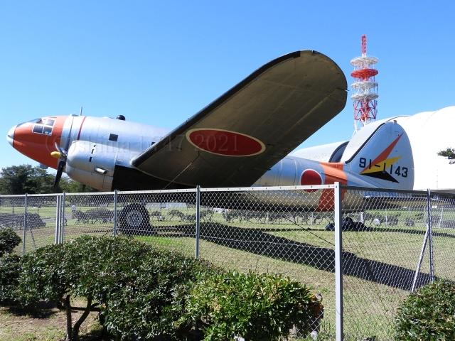 しまb747さんが、所沢航空発祥記念公園で撮影した航空自衛隊 EC-46Dの航空フォト(飛行機 写真・画像)