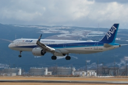 ko_zo.k@KMJさんが、熊本空港で撮影した全日空 A321-272Nの航空フォト(飛行機 写真・画像)