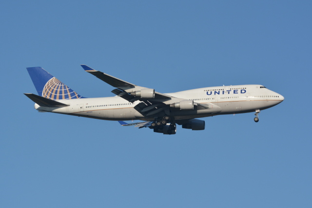 Deepさんが、成田国際空港で撮影したユナイテッド航空 747-422の航空フォト(飛行機 写真・画像)