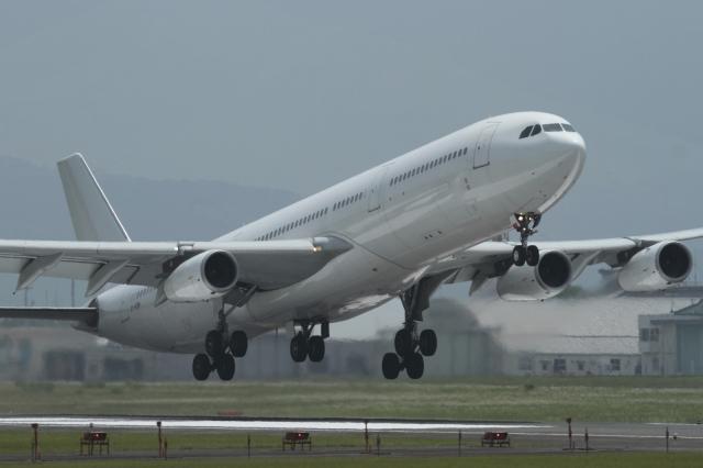 ko_zo.k@KMJさんが、熊本空港で撮影したハイフライ航空 A340-313Xの航空フォト(飛行機 写真・画像)