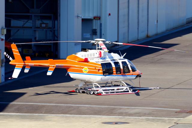 yabyanさんが、名古屋飛行場で撮影したベルヘリコプター 407GXiの航空フォト(飛行機 写真・画像)