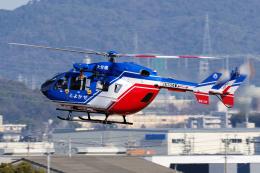 yabyanさんが、名古屋飛行場で撮影した大分県防災航空隊 BK117C-2の航空フォト(飛行機 写真・画像)