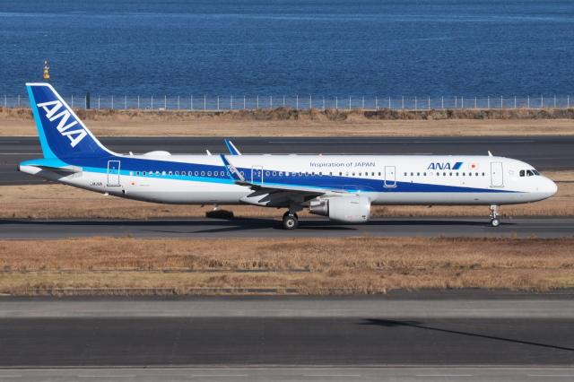 とらとらさんが、羽田空港で撮影した全日空 A321-211の航空フォト(飛行機 写真・画像)