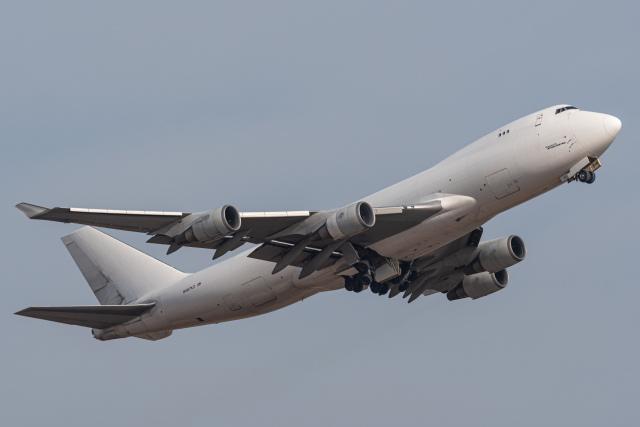 みぐさんが、成田国際空港で撮影したアトラス航空 747-4KZF/SCDの航空フォト(飛行機 写真・画像)