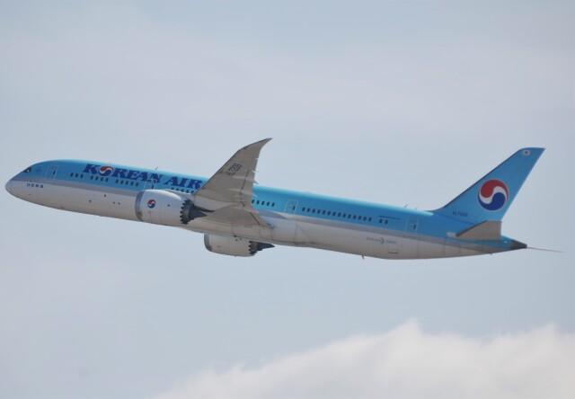 takikoki50000さんが、関西国際空港で撮影した大韓航空 787-9の航空フォト(飛行機 写真・画像)