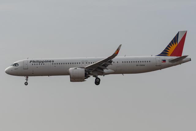 みぐさんが、成田国際空港で撮影したフィリピン航空 A321-271NXの航空フォト(飛行機 写真・画像)
