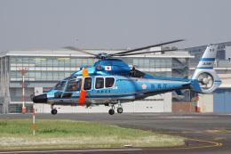神宮寺ももさんが、東京ヘリポートで撮影した警視庁 EC155B1の航空フォト(飛行機 写真・画像)
