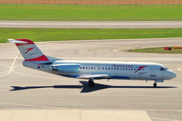 ちっとろむさんが、ウィーン国際空港で撮影したオーストリア航空 70の航空フォト(飛行機 写真・画像)