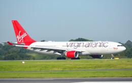 taiki17さんが、マンチェスター空港で撮影したヴァージン・アトランティック航空 A330-223の航空フォト(飛行機 写真・画像)