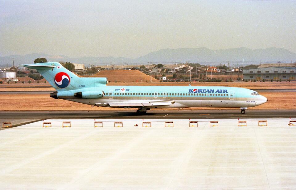 @たかひろさんの大韓航空 Boeing 727-200 (HL7366) 航空フォト