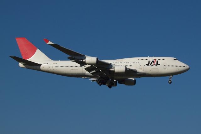Deepさんが、成田国際空港で撮影した日本航空 747-446の航空フォト(飛行機 写真・画像)