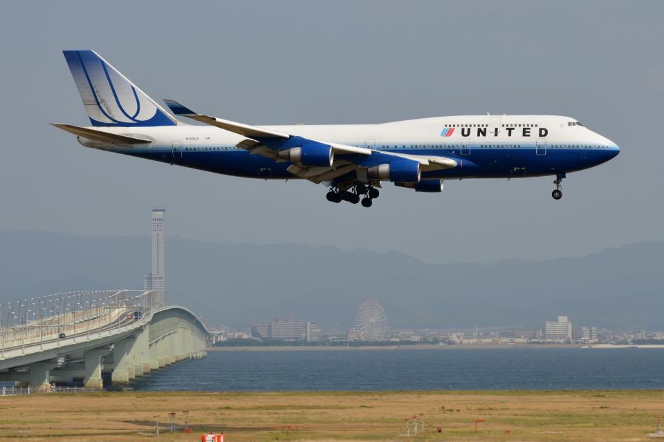 Deepさんのユナイテッド航空 Boeing 747-400 (N120UA) 航空フォト