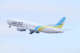 ぼのさんが、羽田空港で撮影したAIR DO 767-33A/ERの航空フォト(飛行機 写真・画像)
