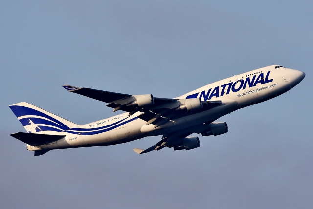 SKY TEAM B-6053さんが、中部国際空港で撮影したナショナル・エアラインズ 747-412(BCF)の航空フォト(飛行機 写真・画像)