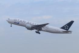 ぼのさんが、羽田空港で撮影した全日空 777-281の航空フォト(飛行機 写真・画像)