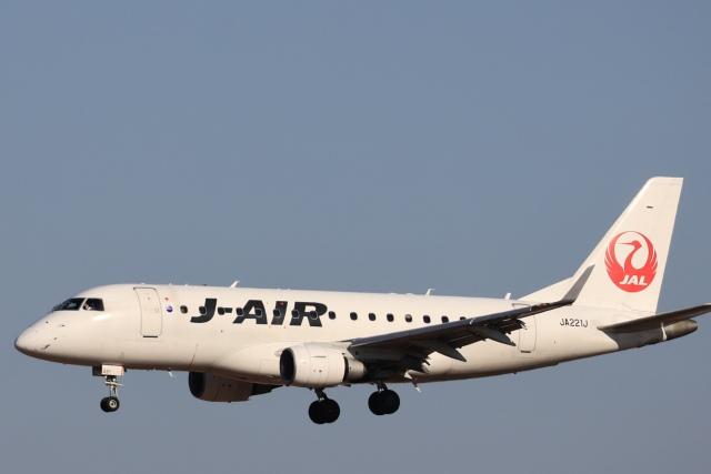 Fly Yokotayaさんが、伊丹空港で撮影したジェイエア ERJ-170-100 (ERJ-170STD)の航空フォト(飛行機 写真・画像)