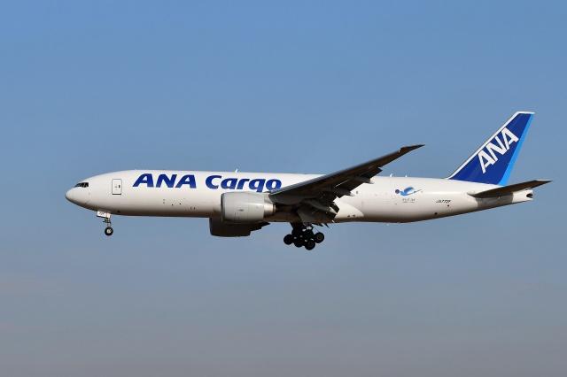 sonnyさんが、成田国際空港で撮影した全日空 777-F81の航空フォト(飛行機 写真・画像)